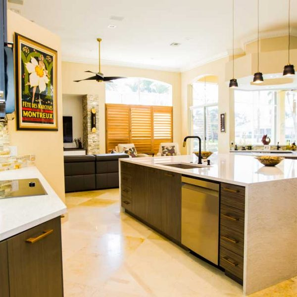Weston Kitchen and Family Design Remodel