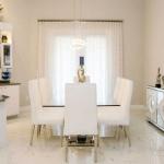 white interior in Weston, FL
