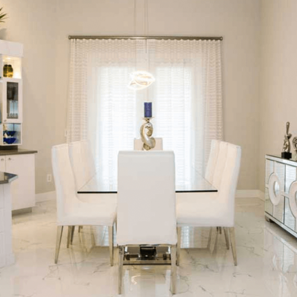 white interior in Weston, FL